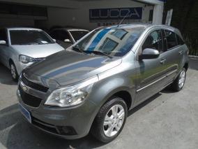 Chevrolet Agile 1.4 Ltz 2012 Cinza Flex Completo