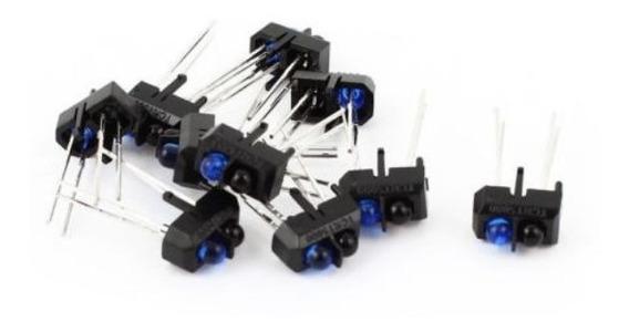 Tcrt5000 Sensor Optico Reflexivo Ir P/ Pic Arduino 10pçs