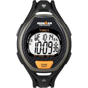 4abae7c3708a Timex Ironman 50 Vuelta Reloj Digital Hombres Negro   Naranj