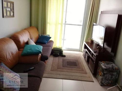 Imagem 1 de 20 de Apartamento Com 2 Dormitórios  2 Vagas  À Venda, 62 M² Por R$ 340.000 - Vila Rosália - Guarulhos/sp - Ap1107