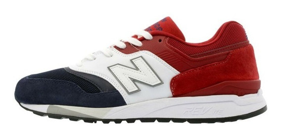 New Balance 997 Navy Withe Red