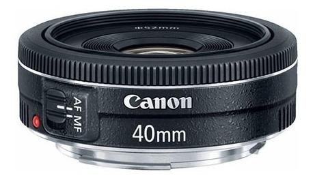 Lente Canon Ef 40mm F/2.8 Stm F2.8 Garant Brasil 12x S/juros