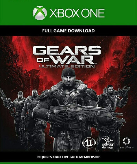 Gears Of War 1: Ultimate Edition Xbox One Código 25 Dígitos