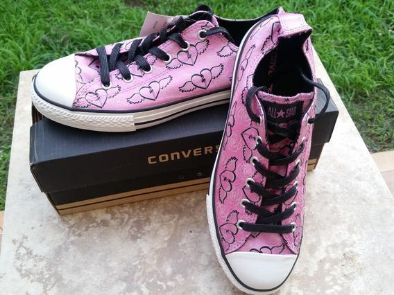 Converse Zapatos Goma Dama Edición Limitada Talla 40 Ó 8.5 A
