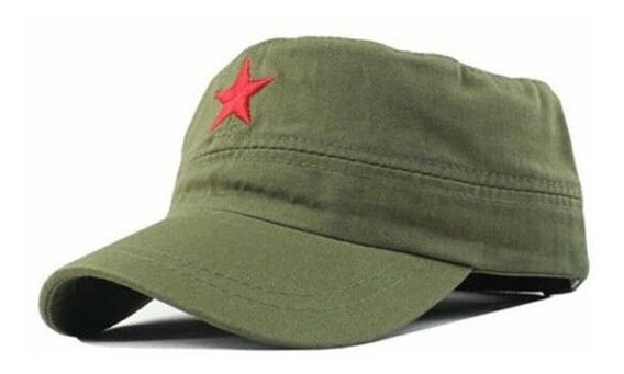 Boina Militar Fidel, Chê, Tico Estrela Vermelha