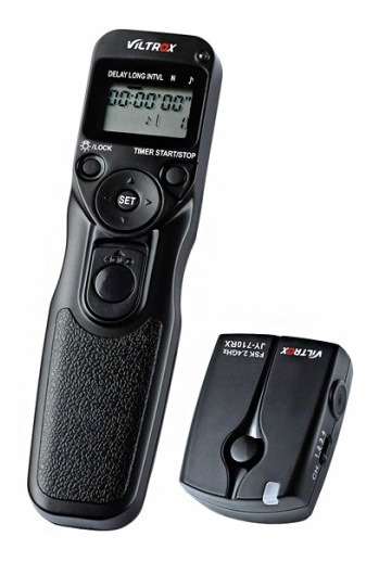 Disparador Remoto Viltrox Time Lapse Canon C3