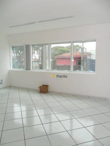 Imagem 1 de 8 de Sala Para Alugar, 53 M² Por R$ 1.000,00/mês - Jardim Do Mar - São Bernardo Do Campo/sp - Sa0400