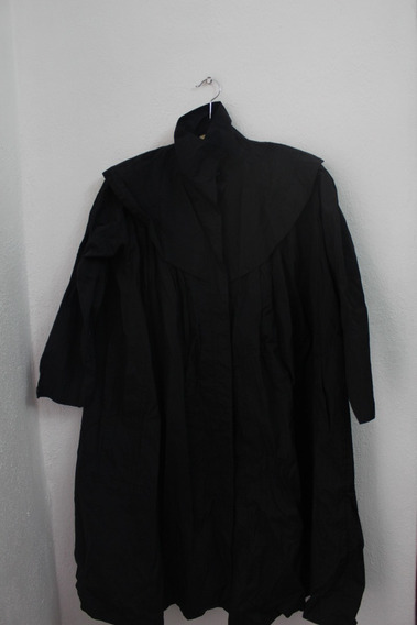 Abrigo Vintage Avant Garde Negro Moda Coreana #703