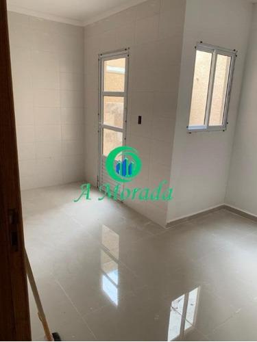 Imagem 1 de 10 de Lindo Apartamento Em Fase De Acabamento - Ap03256 - 69877356