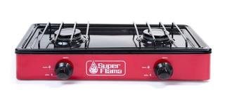 Estufa Super Flama De Mesa 20 2q-r Color Rojo Pm-6004743