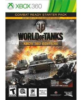 Juego World Of Tanks Para Xbox 360