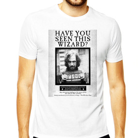 Camiseta Harry Potter Masculina Have You Seen This Wizard