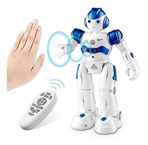 Imagen 1 de 7 de Sunace Rc Robot Toy For Kids, Smart Robot Toys Remote Contr