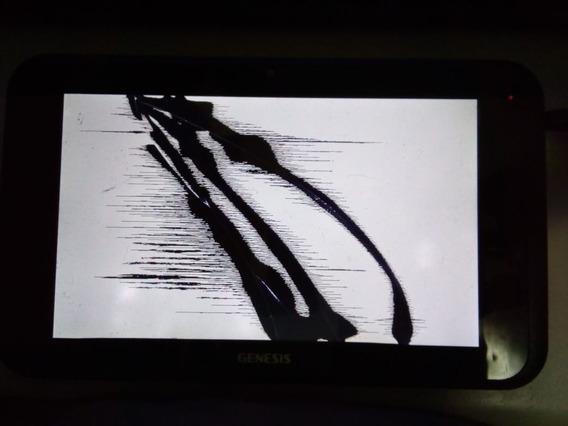 Tablet Genesis Gt-7240 Ligando Com Display Trincado Touch Ok