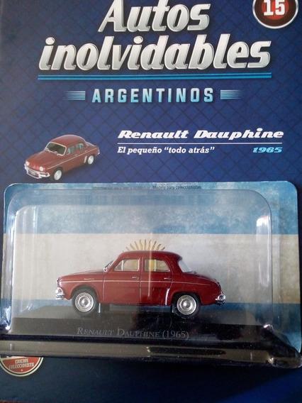 Autos Inolvidables Argentinos Renault Dauphine Nº15 Salvat