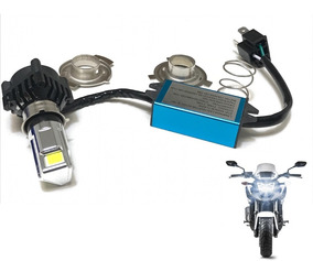 Lampada Farol Led Bi-xenon 8000k - 3000 Lumens - Moto