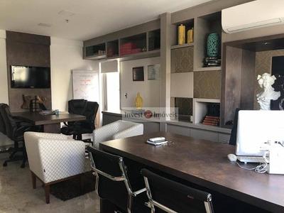 Sala Para Alugar, 37 M² Por R$ 2.200/mês - Jardim Aquarius - São José Dos Campos/sp Toda Mobiliada - Sa0208