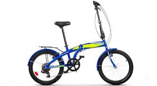 Bicicleta Plegable Topmega Folding 7v Shimano Envio