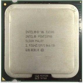 Processador Intel 775 Pentium Dual Core E6500 Super Oferta