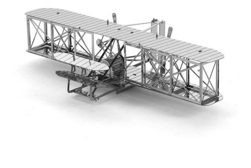 Wright Flyer Rompecabezas Metálico 3d En Stock! Envío Ya!