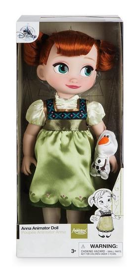 Boneca Princesa Anna Baby Disney Animators Original