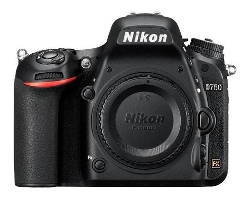 Câmera Nikon D750 Somente Corpo + Nf E Garantia 1 Ano
