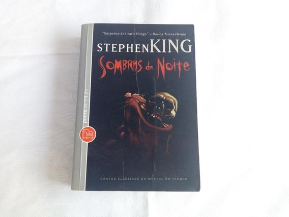 Livro Sombras Da Noite Stephen King - Usado