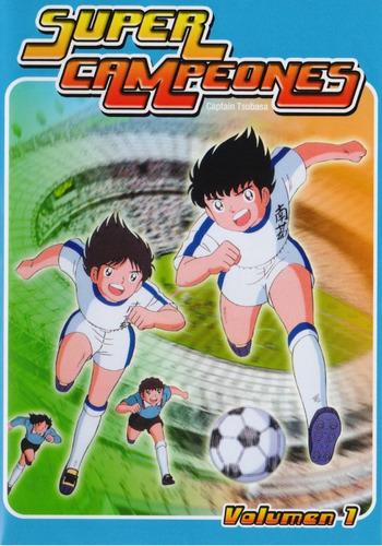 Super Campeones Captain Tsubasa Volumen 1 Uno Dvd