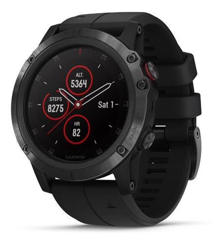 Garmin Fenix 5x Plus Correa Zafiro Negra 51mm Smartwatch