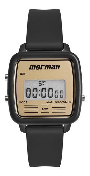 Relógio Digital Mormaii Vintage Preto Mojh02av/8d