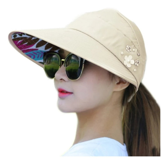 Sombrero De Verano Playa Anti Ultravioleta Mujer De Moda