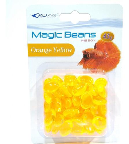 Piedras Decorativas Orange Yellow 50 Piedras