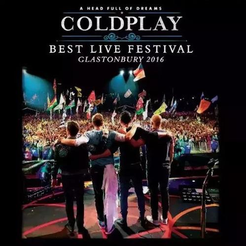Coldplay - Best Live Festival - Vinilo Nuevo -