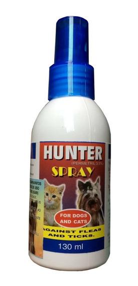 Spray Anti Pulgas E Carrapatos Hunter - 130ml