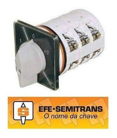 Chave Reversora Trifásica Efe Semitrans W3/32e