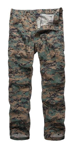 Calça Tática Camuflada Militar Combate Masculina 6 Bolsos