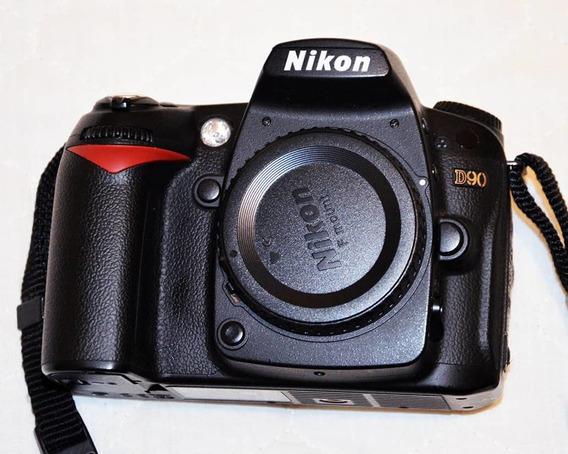 Cuerpo De Cámara Fotográfica Nikon D90 (usada)