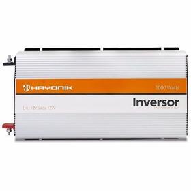 Inversor Conversor De Voltagem Automotivo 2000w 12v 220v Sp