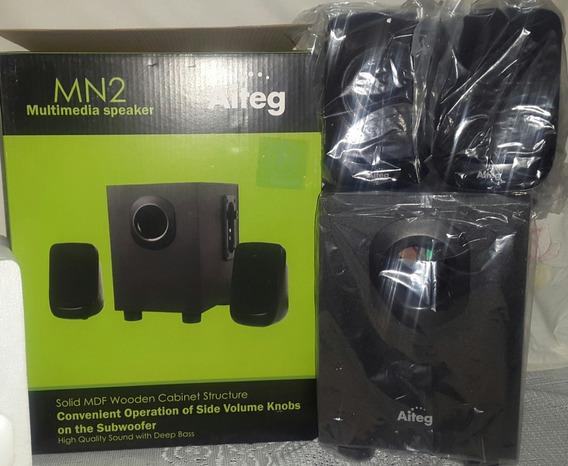 Cornetas Multimedia Marca Aiteg Modelo Mn2 Computadores