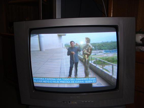 Tv Philips 20 Polegadas Único Dono