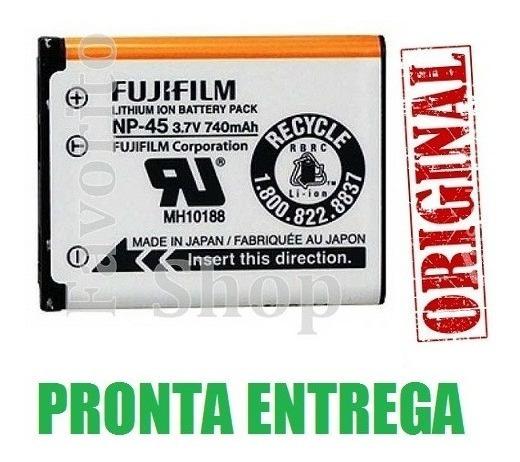 Np* Bateria Original Fuji Film Finepix, Np45 3.7v 740mah