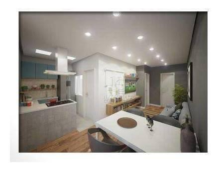 Cobertura Com 1 Dormitório À Venda, 52 M² Por R$ 339.000,00 - Campestre - Santo André/sp - Co5235