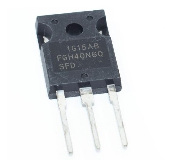 Transistor Fgh40n60sfd Fgh40n60 40n60 Igbt 600 V 80a To-247