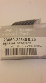 Genuine Hyundai 23060-26962 Engine Connecting Rod Bearing Set