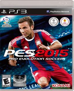 Juego Ps3 Pro Evolution Soccer Pes 2015 En Disco Sellado
