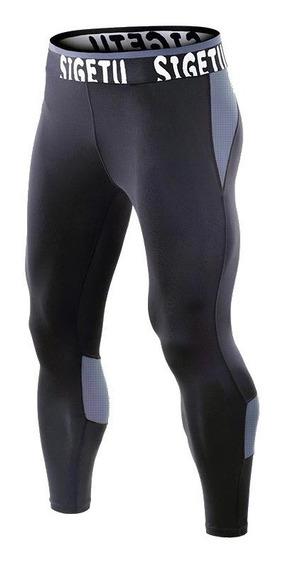 Licra Deportiva Hombre , Pantalón Pants Licra Compresión Gym