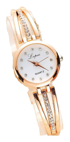 Relógio Feminino Frete Gratis Pulso Pequeno Lindo Super Top