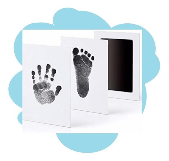 Carimbo Limpo P/ Bebê Newborn Lembrança Mão Pé - S12