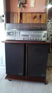 Equipo De Música Con Vinilo 1980 - Hitachi Sdt_9420rs