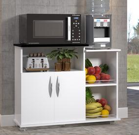Fruteira Armário Suporte Bebedouro Microondas Cozinha Chão
